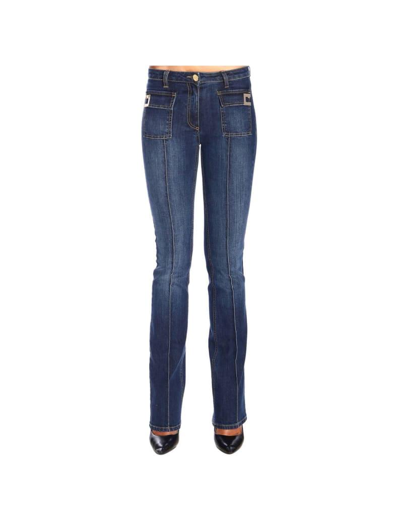 Elisabetta Franchi Celyn B. Elisabetta Franchi Jeans Slim-legged Elisabetta Franchi Jeans With Logo - denim