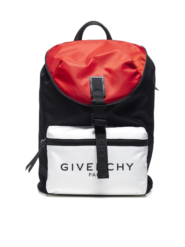 Givenchy Backpack - Black/red/white