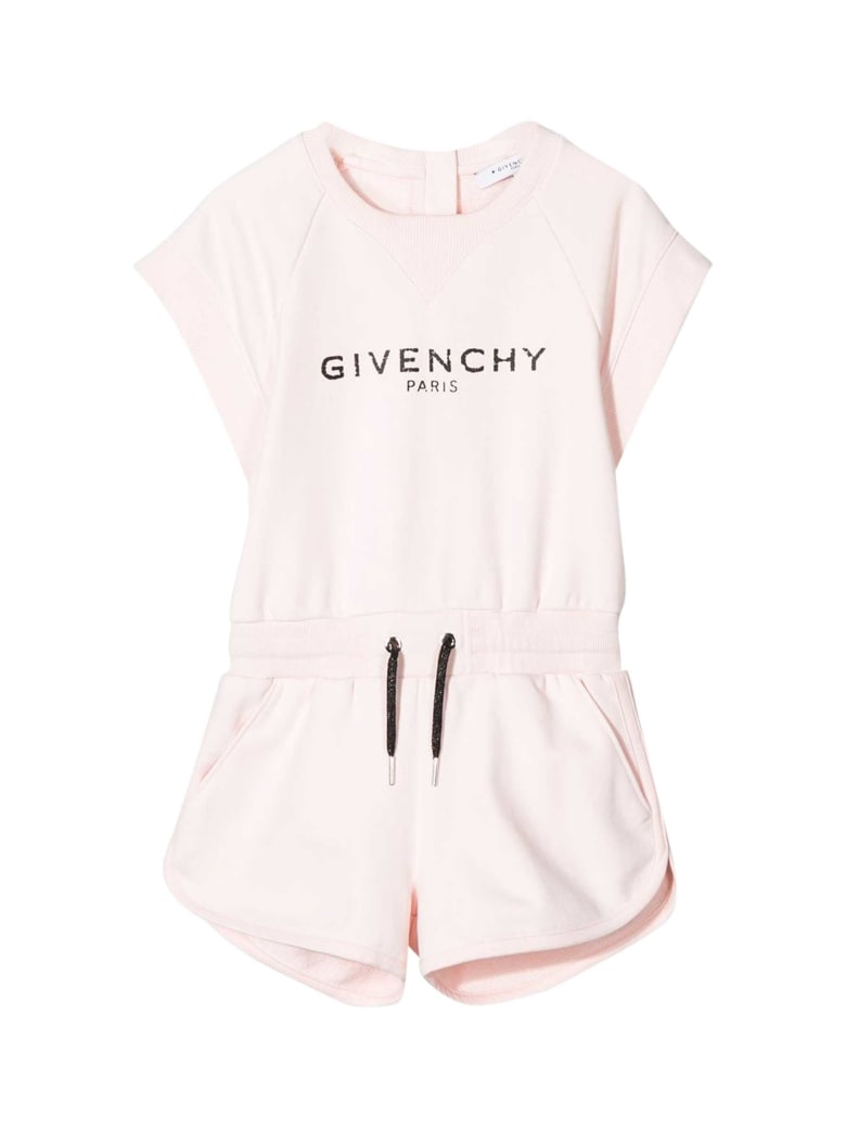 Givenchy Kids Printed Suit - Rosa