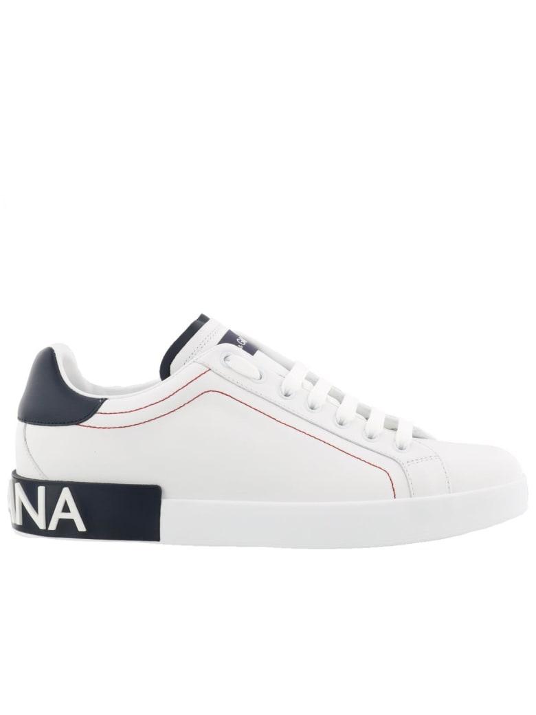 Dolce & Gabbana Portofino Sneakers - White