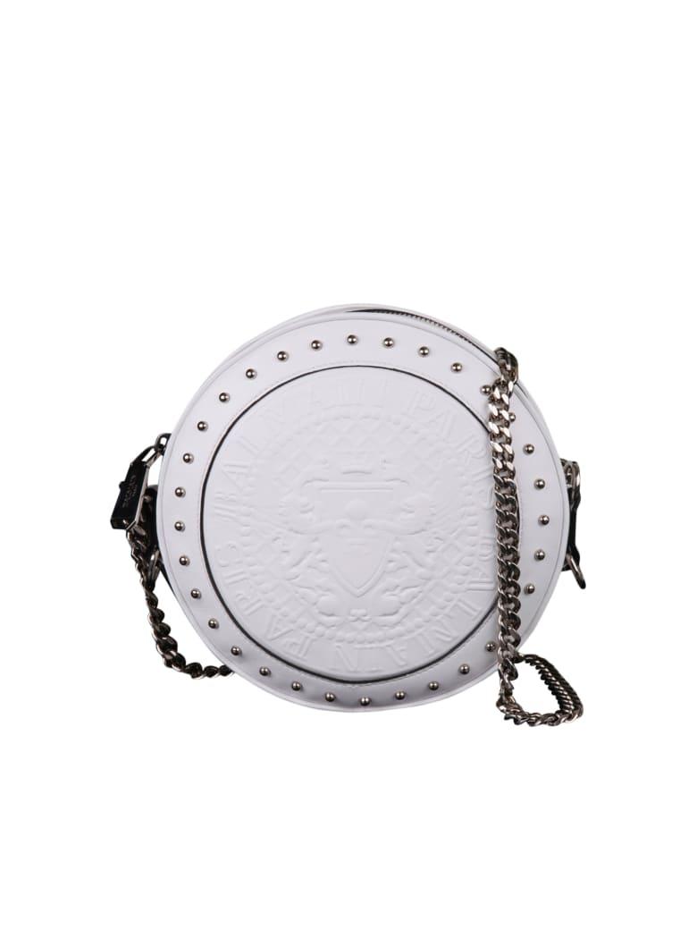Balmain Paris Shoulder Bag - White