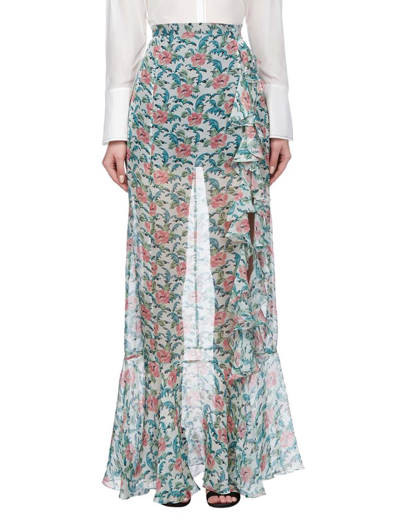 Raquel Diniz Skirt - Verde multicolor