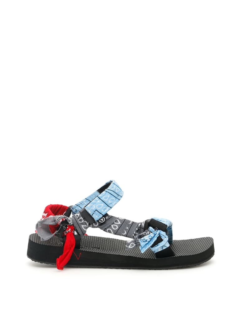 Arizona Love Bandana Trekky Sandals - MIX BLUE (Grey)