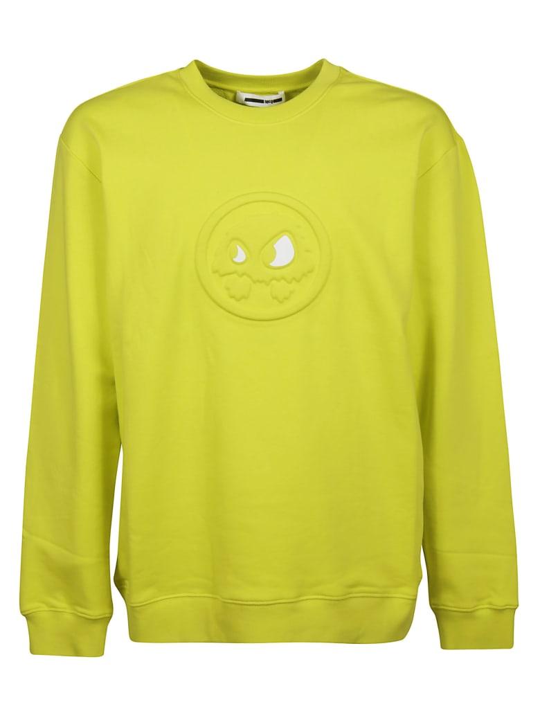 McQ Alexander McQueen Chester Monster Sweatshirt - yellow