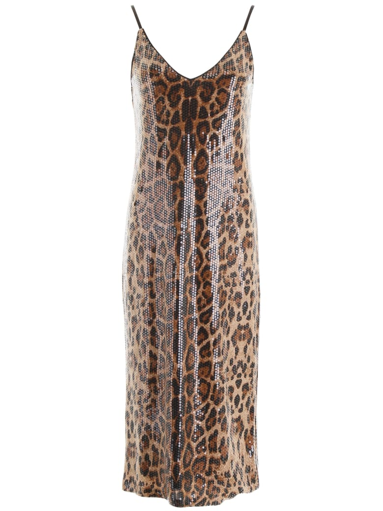 In The Mood For Love Rihanna Dress - PANTHER BROWN (Beige)