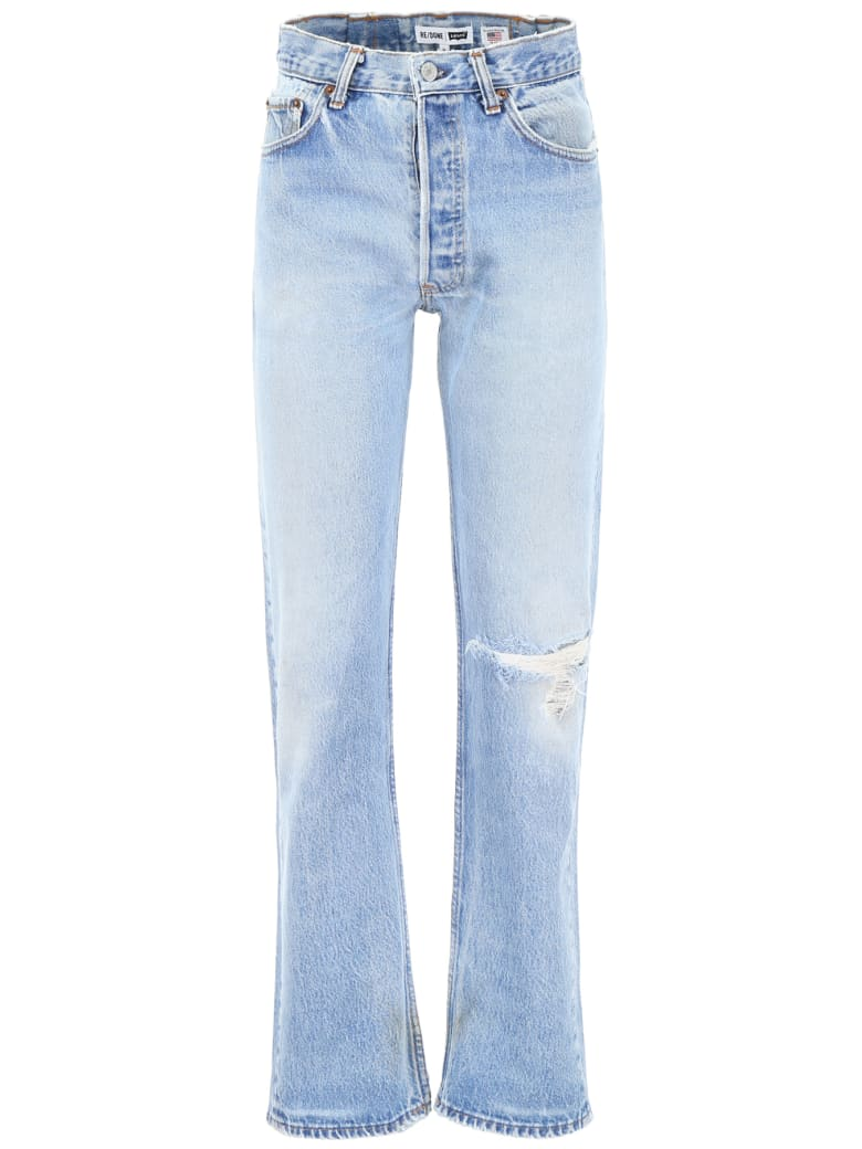 RE/DONE 90's Jeans - INDIGO (Light blue)