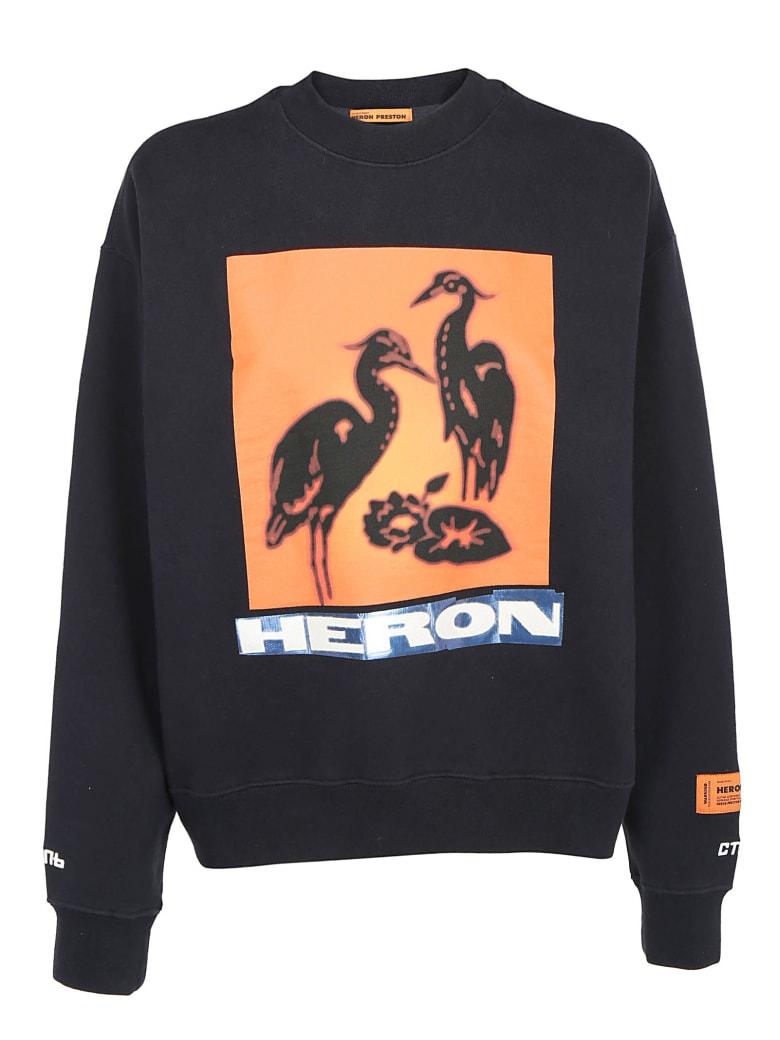 HERON PRESTON Sweatshirt - Off black