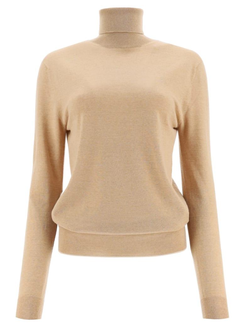 Marni Turtleneck Wool Sweater - SESAME (Beige)