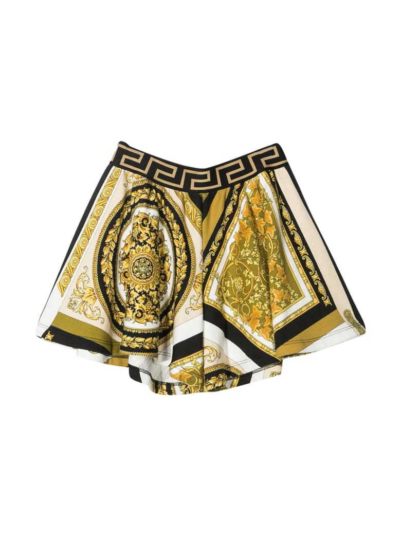 Young Versace Printed Shorts - Multicolor