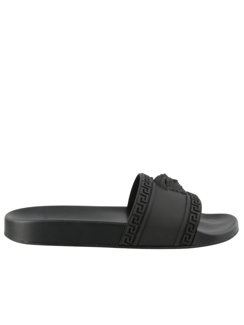 Detail Slide Medusa Versace Medusa Sandals Detail Slide Versace Versace Medusa Slide Detail Sandals 8Ovmn0Nw