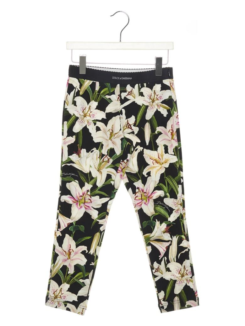 Dolce & Gabbana 'gigli' Leggings - Multicolor