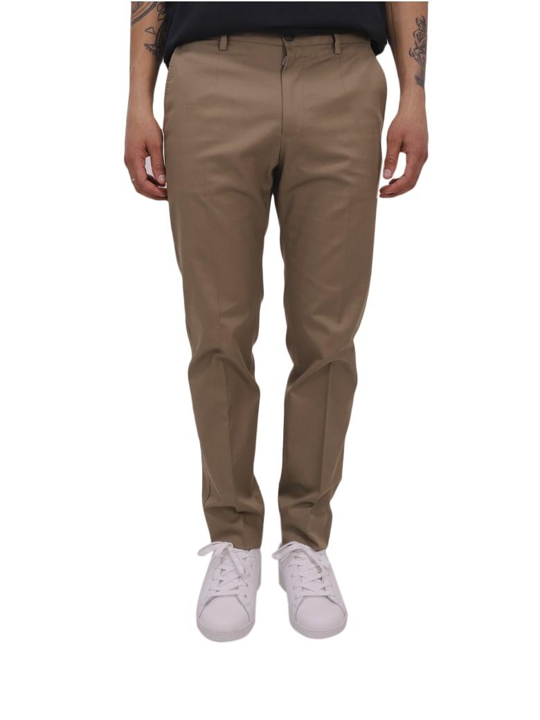 Dolce & Gabbana Khaki Trousers - Khaki