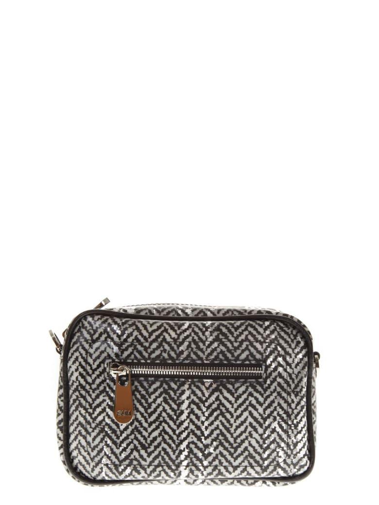 Gianni Chiarini Chevron Little Shoulder Bag - Grey