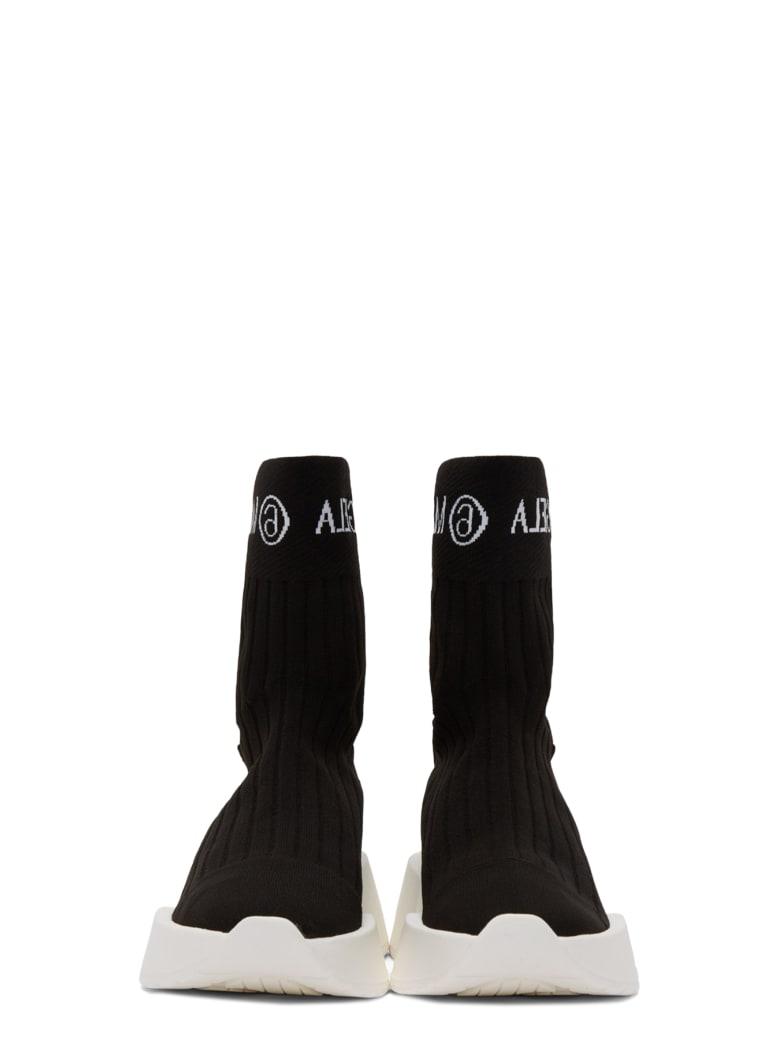 MM6 Maison Margiela Sock Sneakers - Nero/bianco