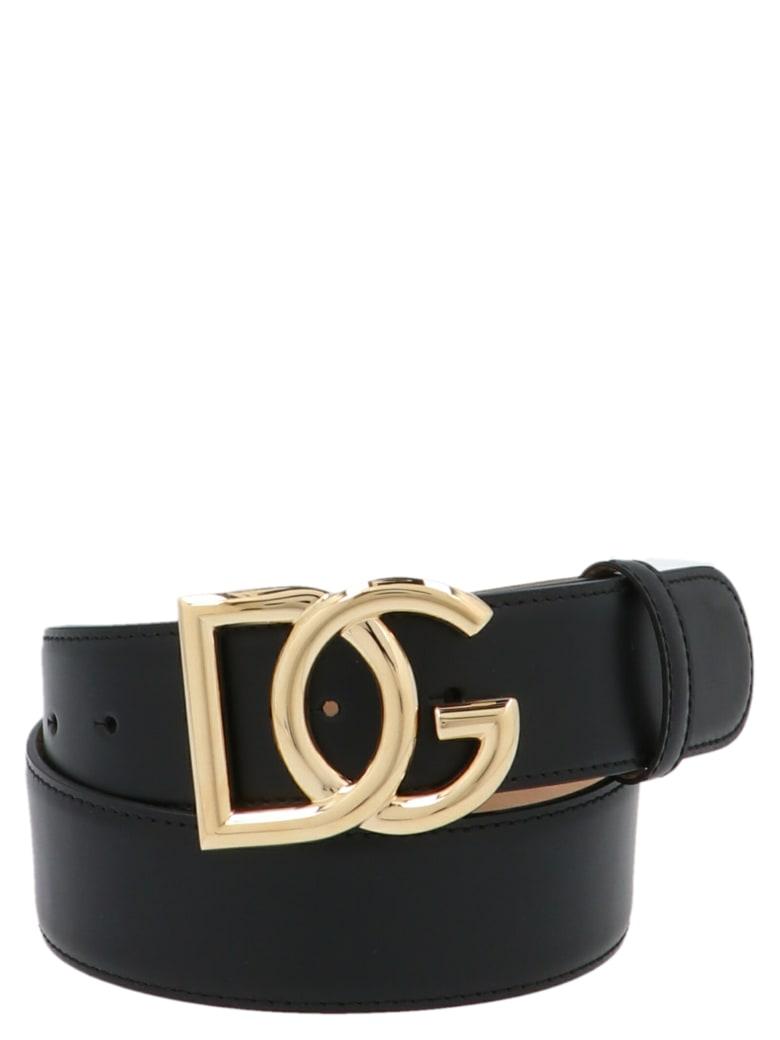 Dolce & Gabbana 'dg Millenials' Belt - Black