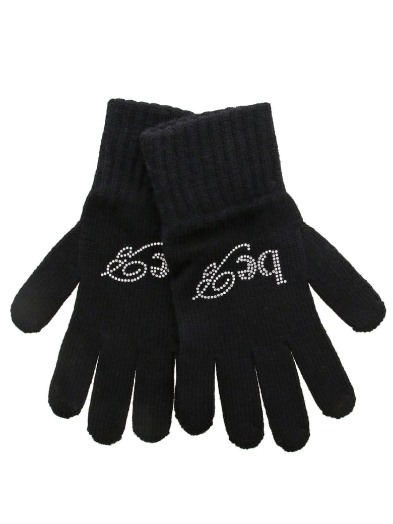 Be Blumarine Gloves Gloves Women Be Blumarine - black