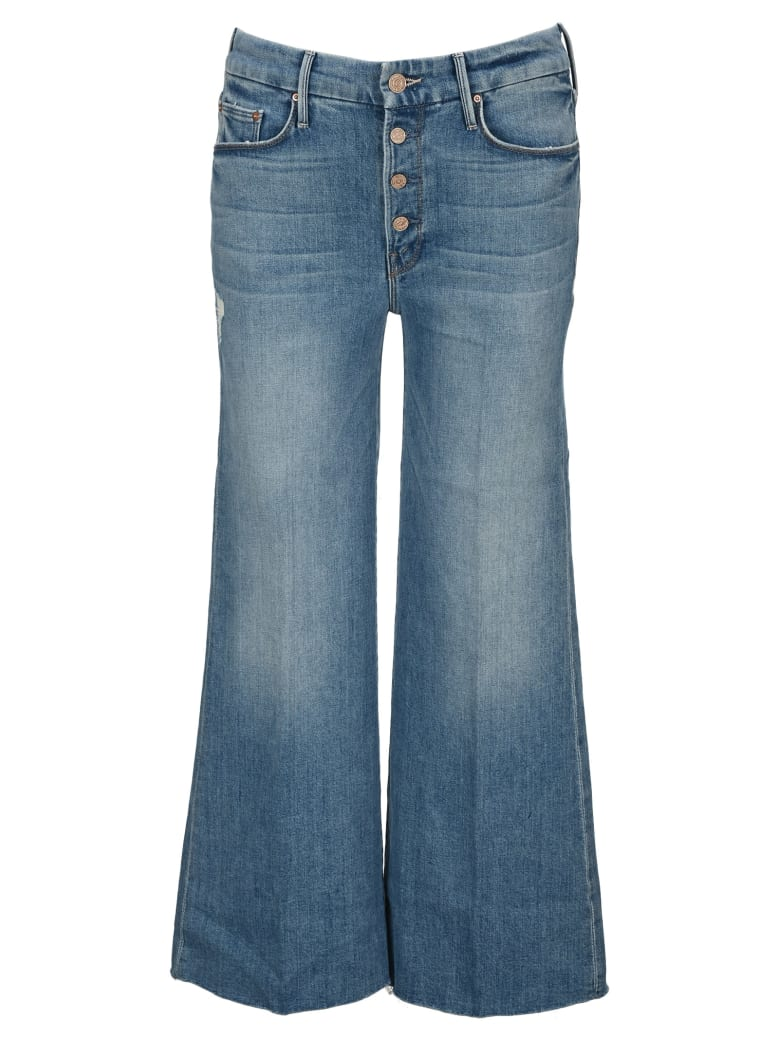 Mother The Pixie Roller Ankle Jeans - LET'S KICK IT