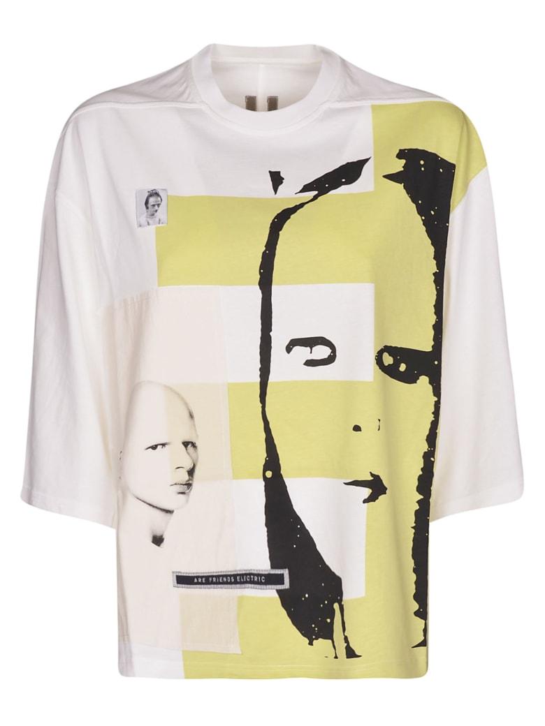 DRKSHDW Printed T-shirt - Milk