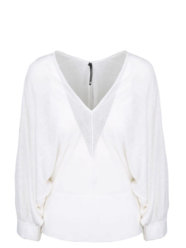 PierAntonioGaspari Soft Linen Sweater - White