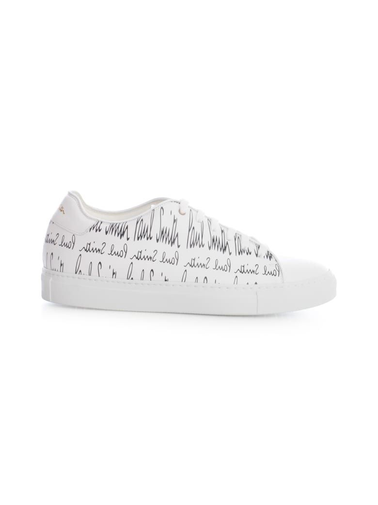 Paul Smith Snekaers Signature Allover - White