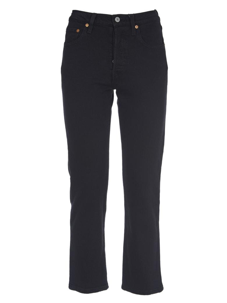Levi's Black Jeans With High Waist - Nero