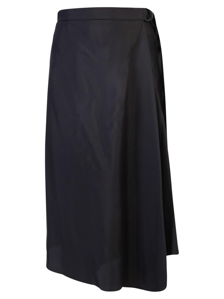 Brunello Cucinelli Asymmetric Skirt - Black