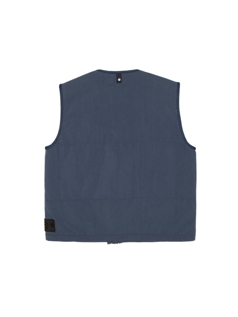 Stone Island Shadow Project Padded Vest - Blue