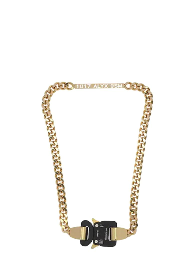 1017 ALYX 9SM Buckle Necklace - Oro