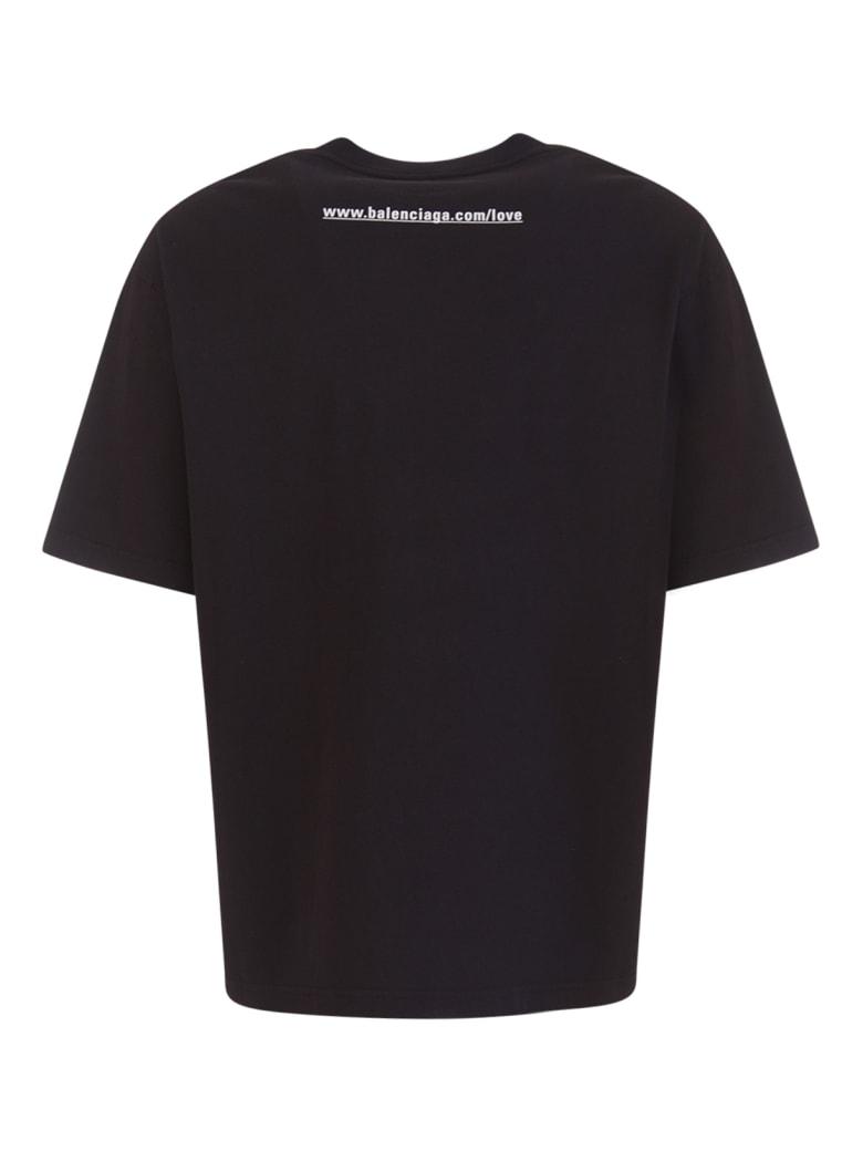 Balenciaga I Love You T-shirt - Nero