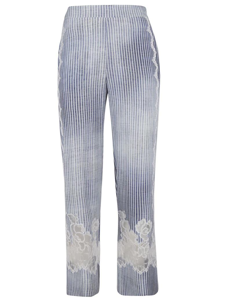 Ermanno Scervino Striped Trousers - sky
