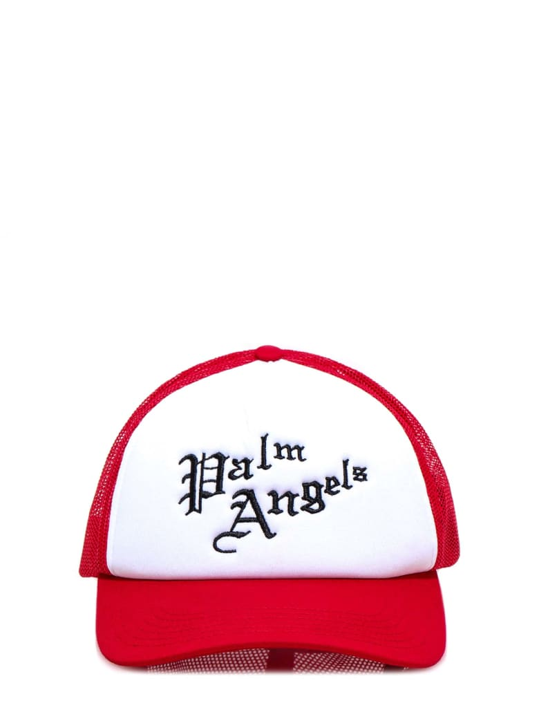 Palm Angels Hat - Red