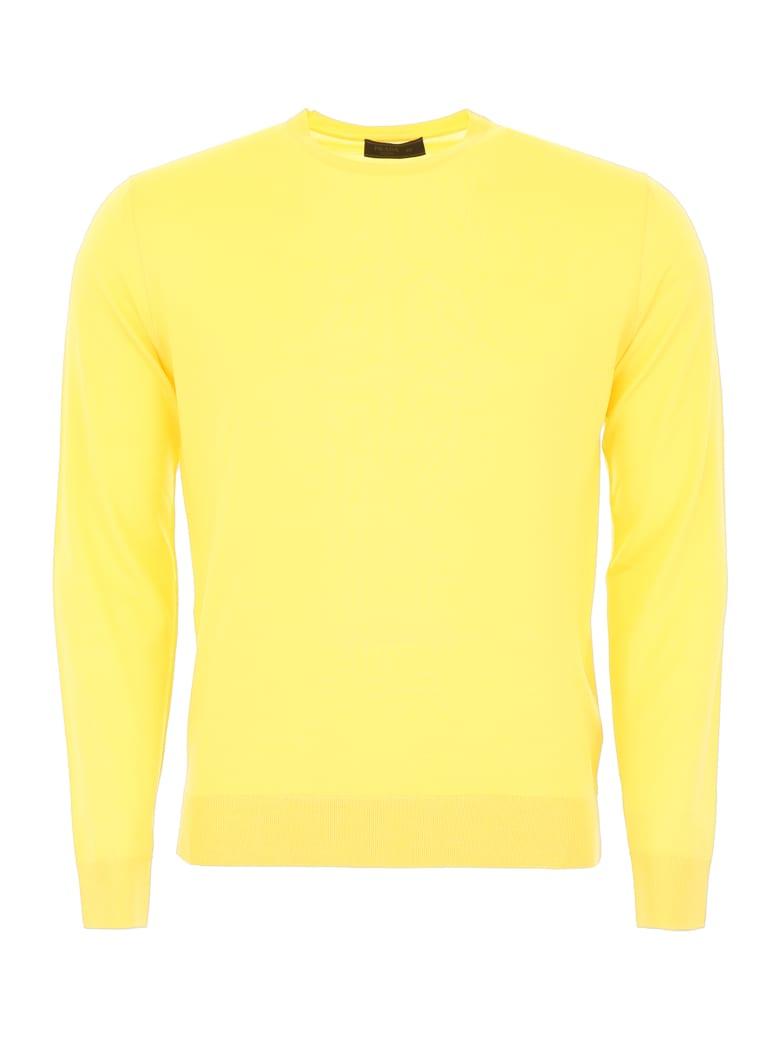 Prada Brushed Wool Pullover - GIALLO (Yellow)