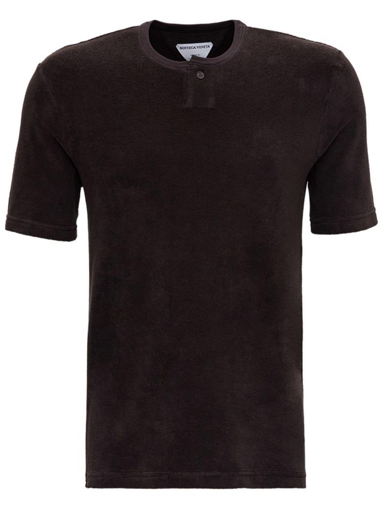 Bottega Veneta Brown Terry Cloth T-shirt - Marrone