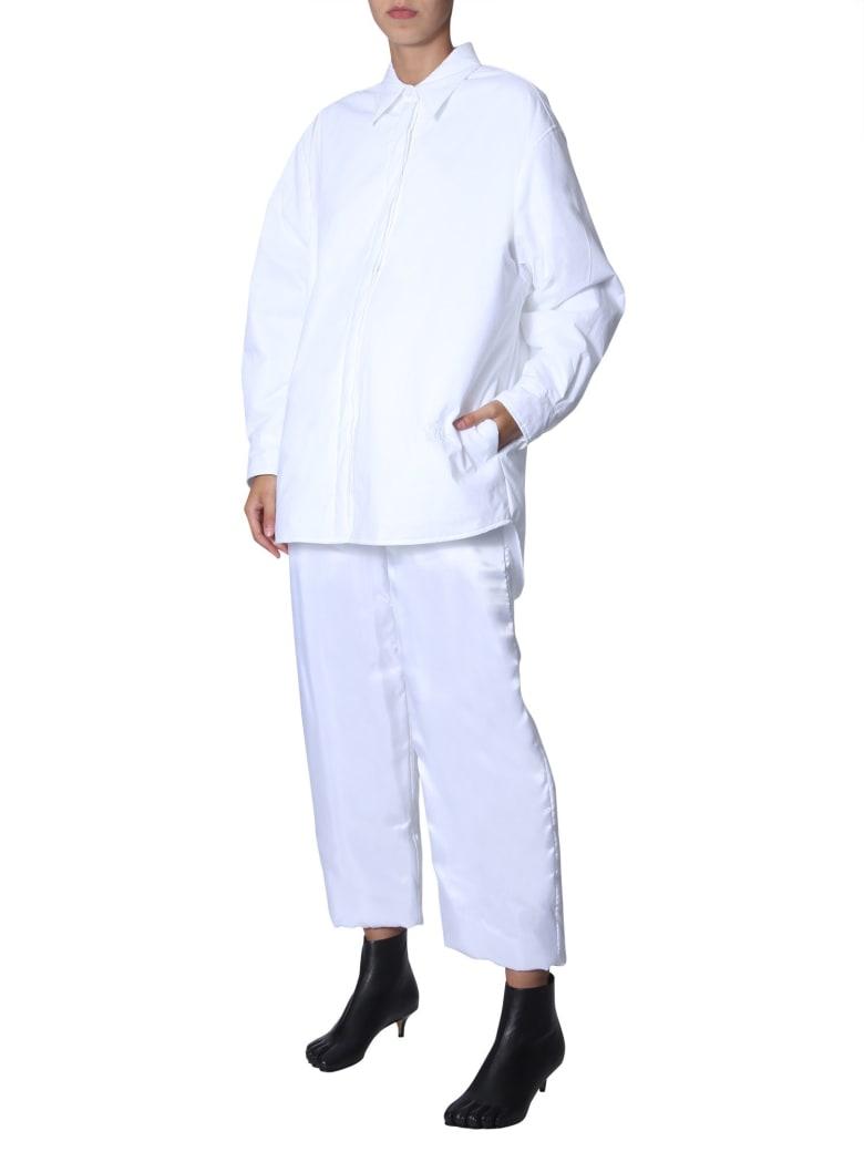 MM6 Maison Margiela Oversize Fit Shirt - BIANCO