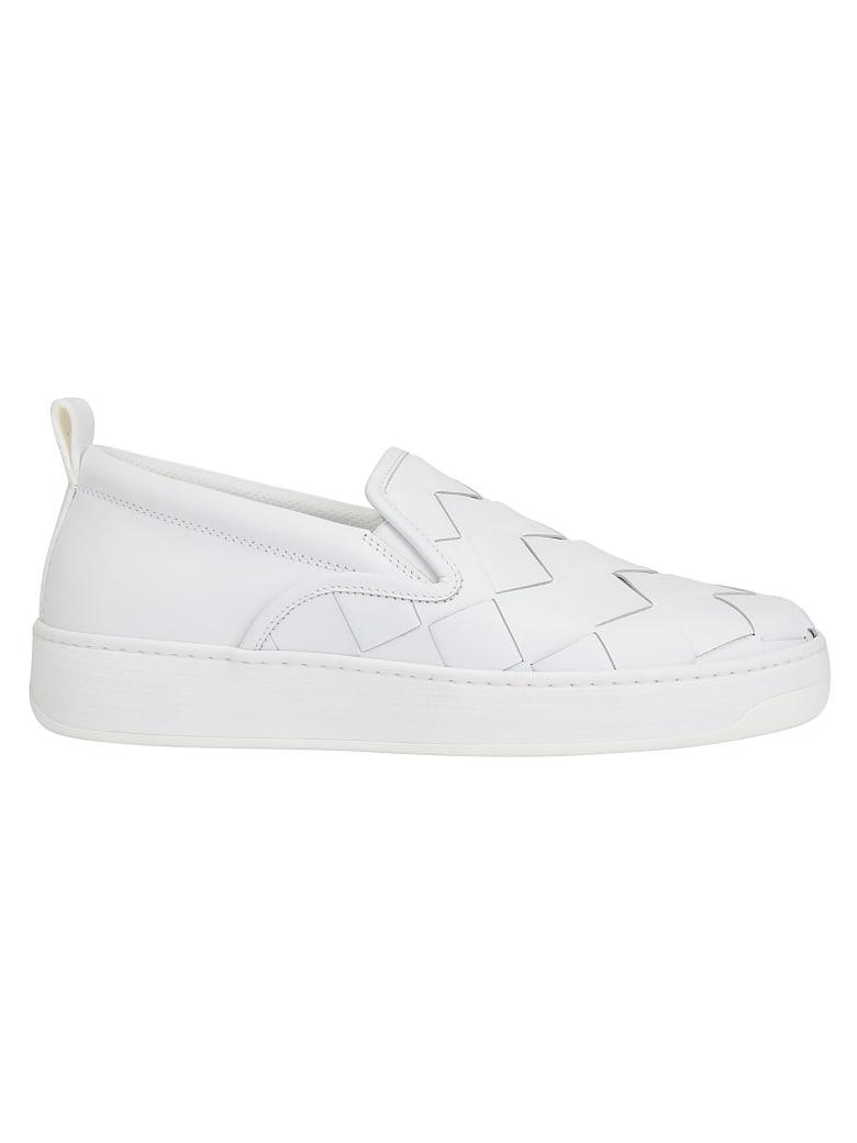 Bottega Veneta Slip On Sneakers - Optic white