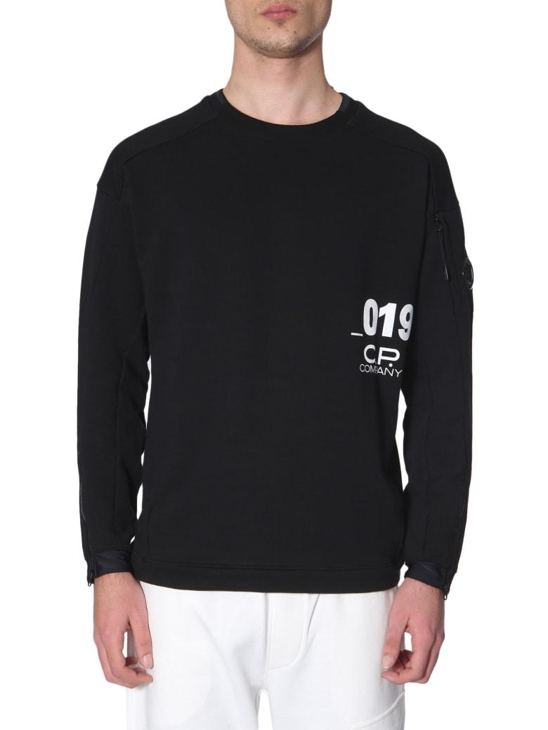 C.P. Company Crew Neck Sweatshirt - NERO