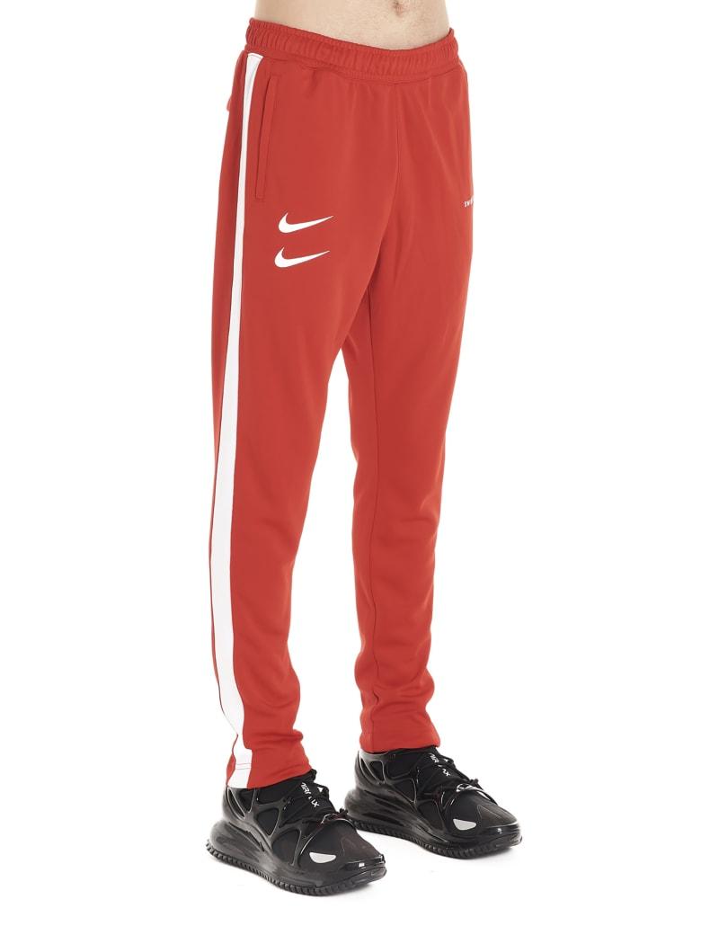Nike 'swoosh' Sweatpants - Red