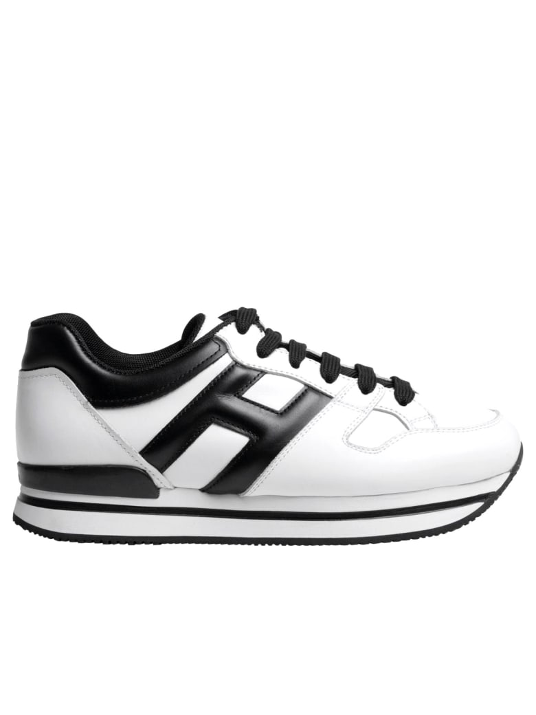 Hogan H222 Sneakers - White/black