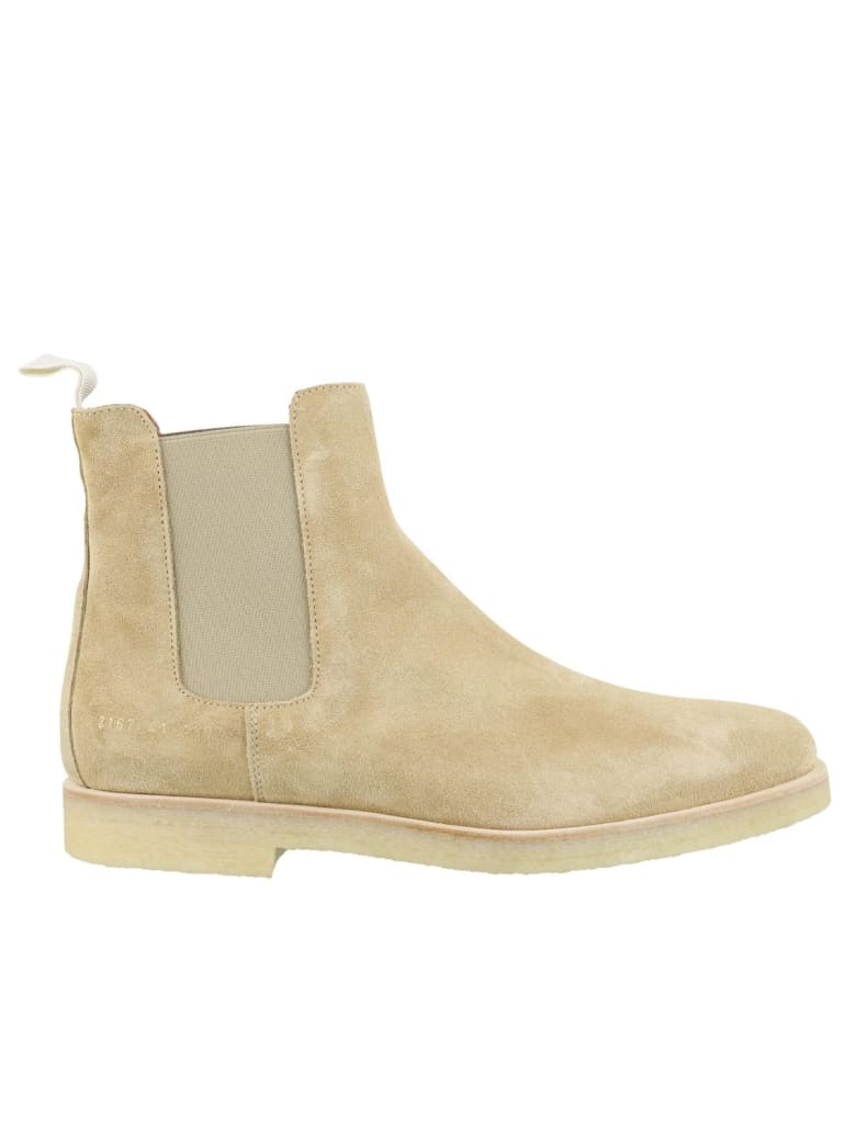 Common Projects Chelsea Suede Boots - Tan