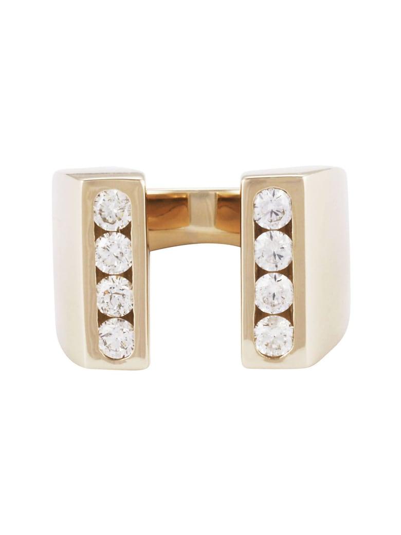 Lo Spazio Jewelry Lo Spazio Diamond U  Ring - Diamond