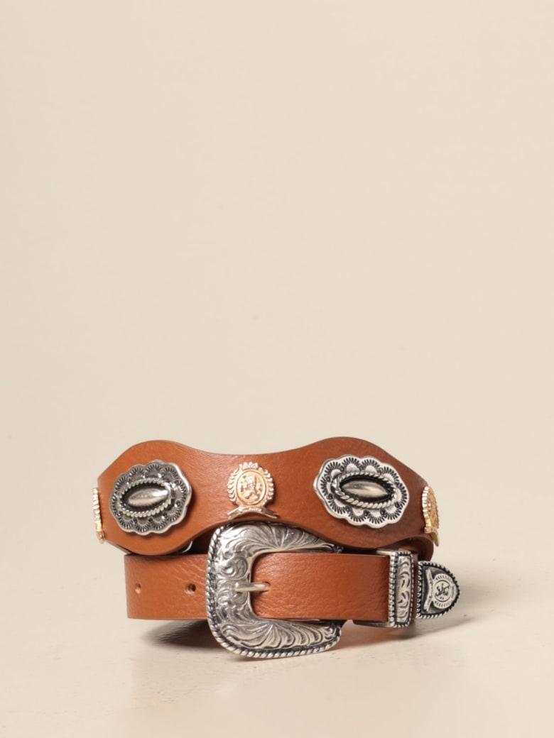 Hilfiger Denim Hilfiger Collection Belt Hilfiger Collection Leather Belt With Metal Buckle - Leather