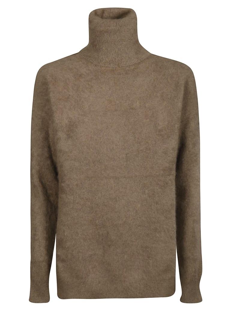Mes Demoiselles Turtleneck Sweater - Brown