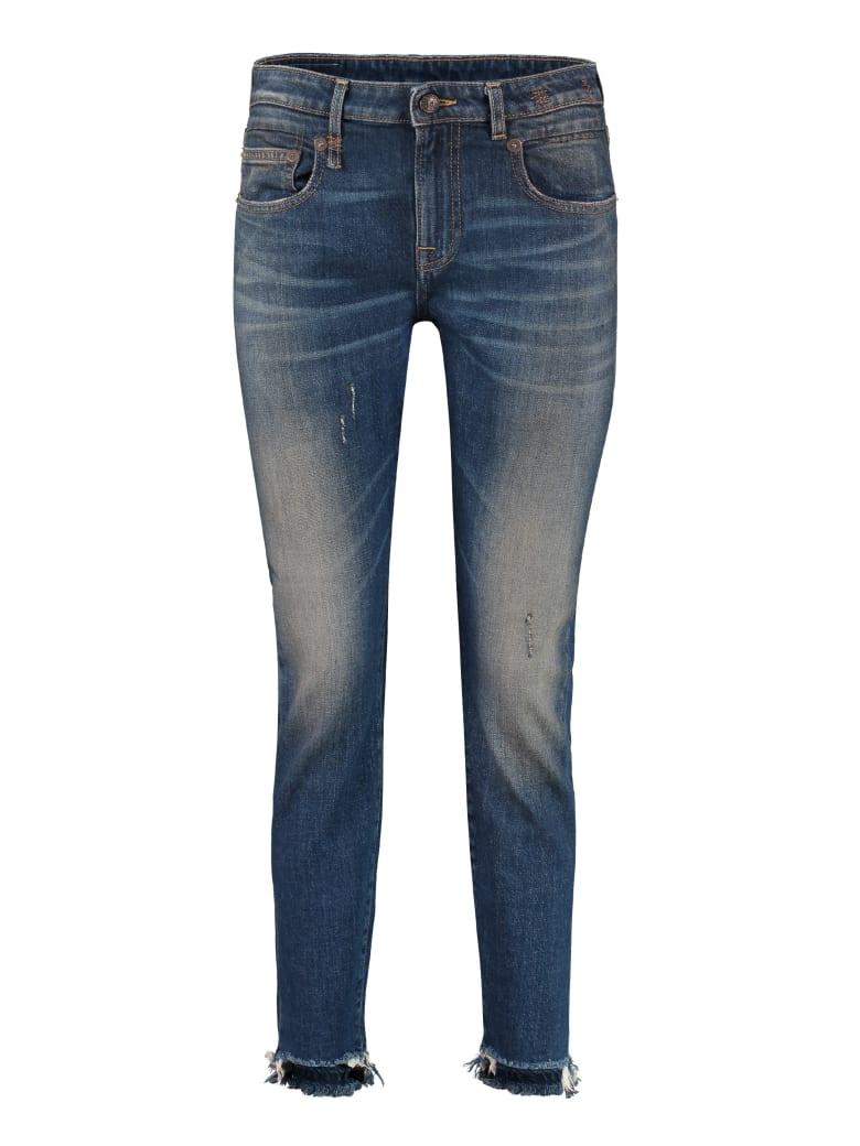 R13 Stretch Skinny Jeans - Denim