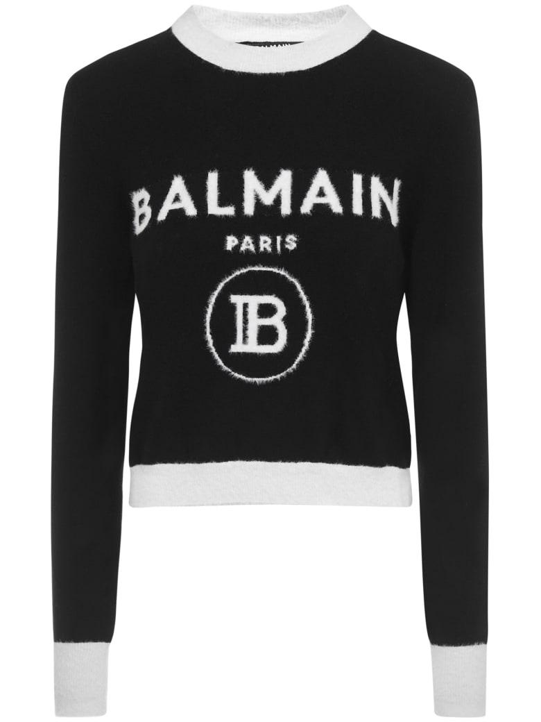 Balmain Paris Sweater - Black/white