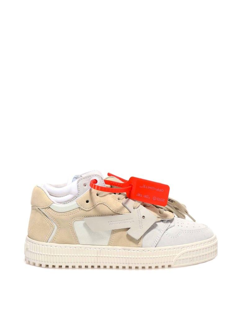 Off-White Beige Medium Gr Sneakers - White
