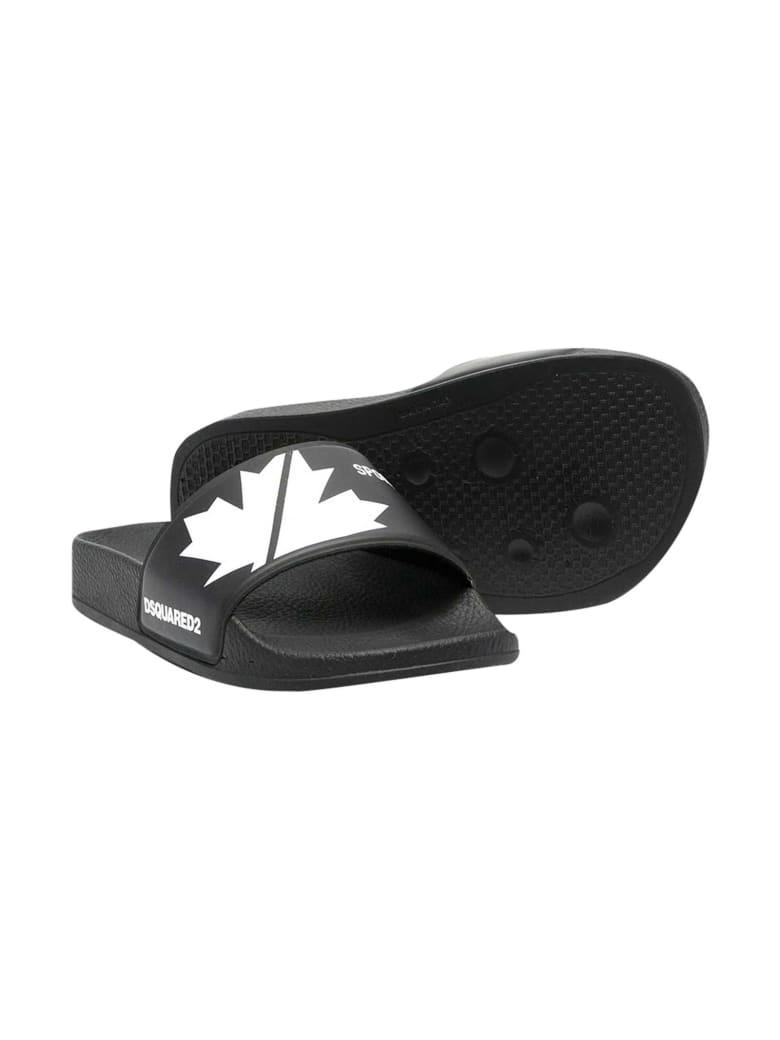 Dsquared2 Black Slippers