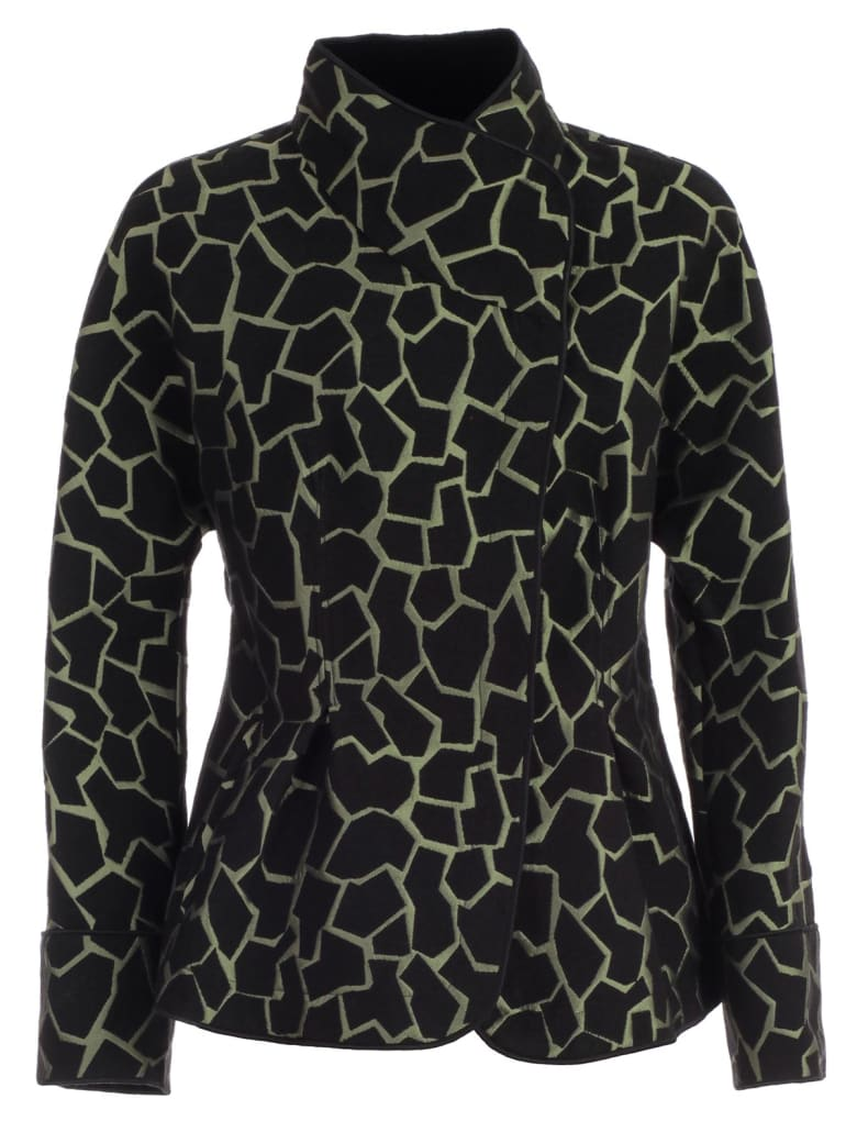 Emporio Armani Jacket Giraffe Print - Fantasia