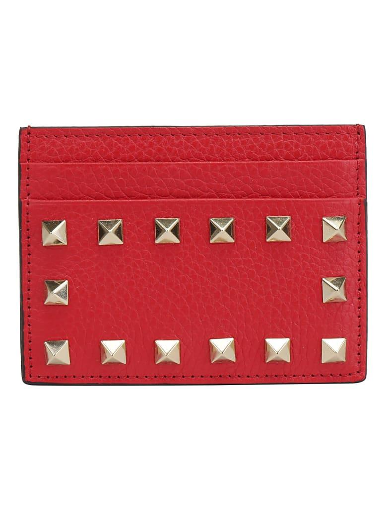 Valentino Garavani Card Holder - Rouge pur