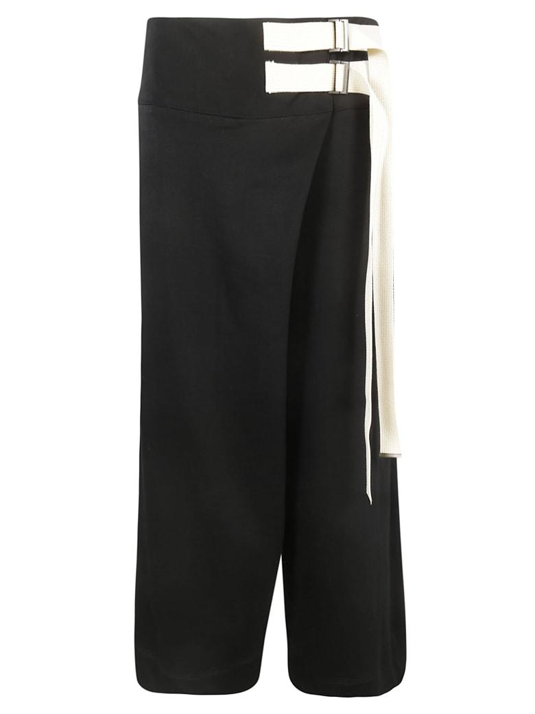 Y's Double Belt Trousers - Black