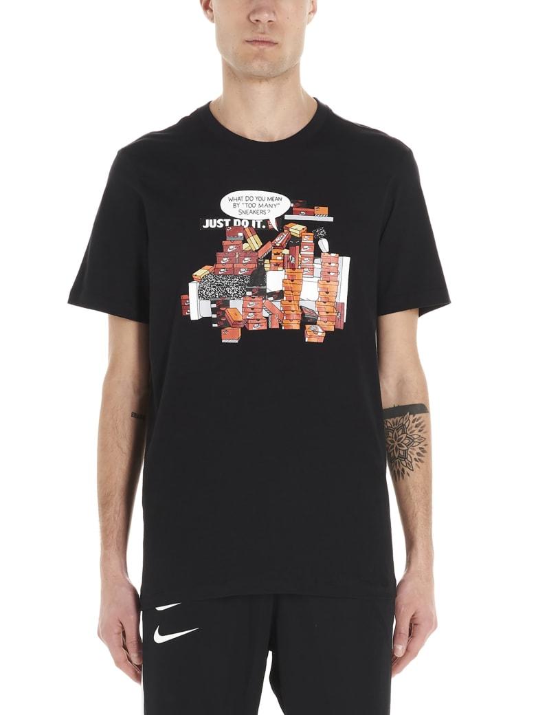 Nike 'snkr Crtl 7' T-shirt - Black